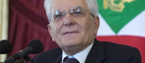 Sergio Mattarella al termine delle consultazioni