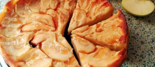 Tarta de manzana (Muy fácil) - CACEROLADAS - caceroladas.com