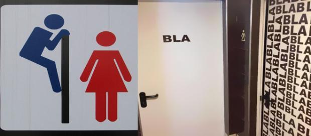 As melhores placas de banheiro ao redor do mundo
