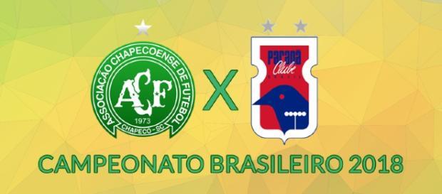 Brasileirão: Chapecoense x Paraná ao vivo. (foto reprodução).