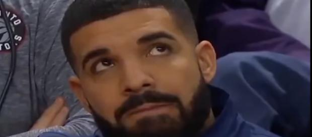 Drake watches the Cavs beat his Raptors in the NBA playoffs - image - 3Feels/YouTube