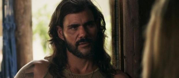 O Outro Lado do Paraíso: Mariano mostra barriga desfigurada