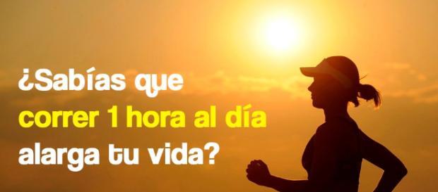 Sabías que correr 1 hora al día alarga tu vida? - Mejor con Salud - mejorconsalud.com