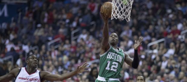 Terry Rozier is having a breakout season with the Celtics - [image credit: Keith Allison   Flickr - flickr.com]