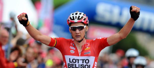 Tim Wellens vainqueur à Caltagirone