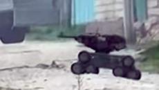 Forças especiais russas usam robô armado em missão para eliminar terroristas