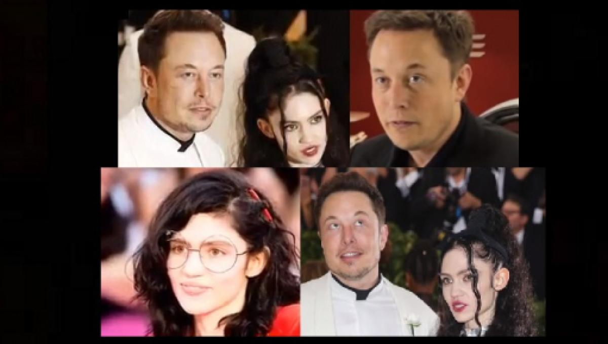 Elon Musk and Grimes debut as 'curious couple' in Tesla