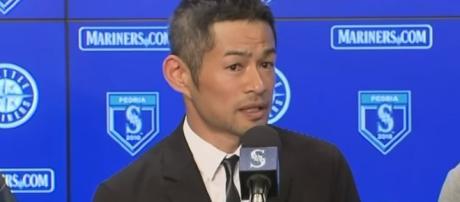 Ichiro Suzuki returned to the Seattle Mariners. - [Seattle Mariners / YouTube screencap]