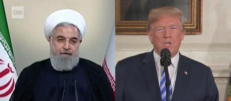 Iranian leader leaves a message to President Trump stating, 'You've made a mistake.' [Image source: CNN/YouTube]