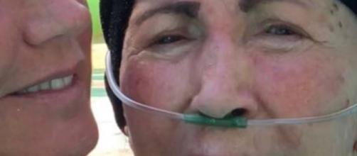 Alda Meneghel, 81 anos, lutava contra a Doença de Parkinson (Foto/Divulgação/Instagram)