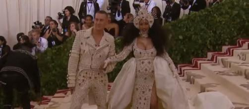 Celebrities pulled out all the stops for last night's Met Gala -- YouTube/Entertainment Tonight