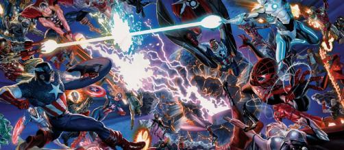 Cómics] Evento Secret Wars: Nuevo Universo Marvel mezclando ... - blogdesuperheroes.es
