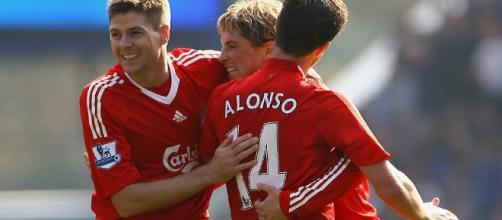 """Fernando Torres back Steven Gerrard to become a """"great manager ... - rousingthekop.com"""