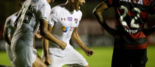Fluminense arranca uma virada em cima do Vitória no Barradão