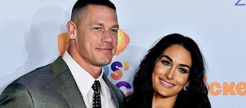 John Cena and Nikki Bella called off their wedding but might still be seeing each other [Image: Entertainment Tonight/YouTube screenshot]