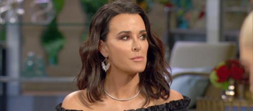Kyle Richards attends the 'Real Housewives of Beverly Hills' season eight reunion. Youtube Screencap 'Real Housewives of Beverly Hills'