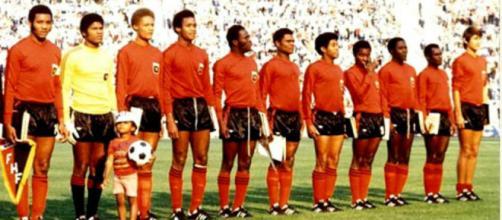 La Nazionale di Haiti ai Mondiali di Germania del 1974