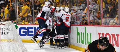 Los Caps finalmente vencen a los Penguins y están en la Final del Este. NHL.com.