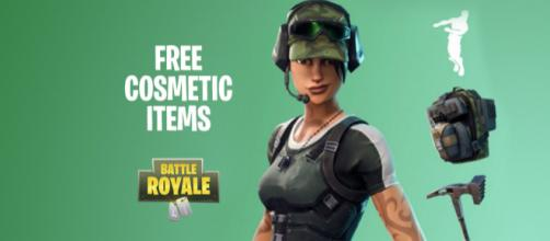 "More free items for ""Fortnite Battle Royale"" players. Image Credit: Own work"