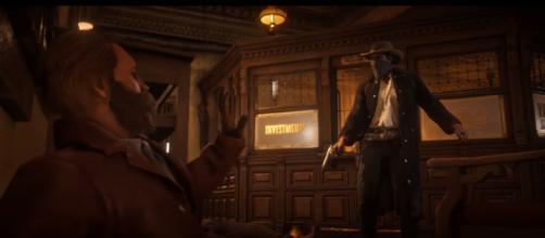 'Red Dead Redemption 2': scene. - [Image Credit: Rockstar Games / YouTube screencap]