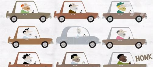 Road rage is a serious problem that leads to accidents. Here's how you can prevent it. [Image source: Howcast/YouTube]