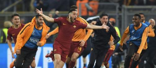 VIDEO - La tête de Manolas, le but qui a sorti le Barça de la ... - eurosport.fr