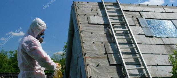 disposición del asbesto — Foto de stock © fotokris44 #7754058 - depositphotos.com