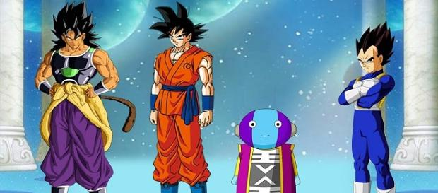 Dragon Ball Super Goku Ultra Instinto contra el legendario Saiyan Yamoshi
