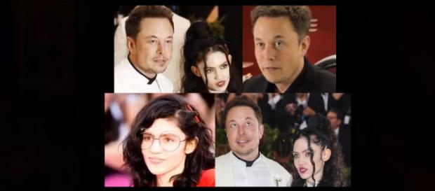 Elon Musk and Grimes dating. [image source: BBC News - YouTube]