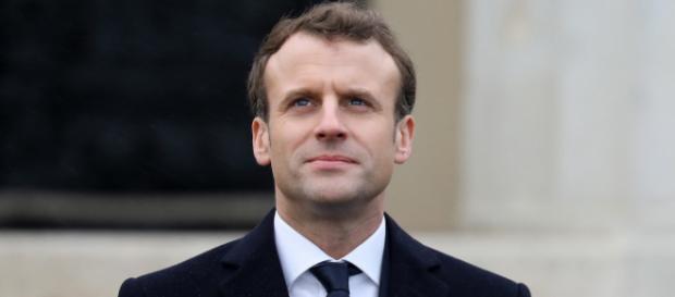 Emmanuel Macron présent lors de la finale de la Coupe de France