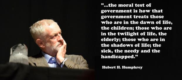 Jeremy Corbyn is made of rubber he keeps bouncing back - image credit Flickr