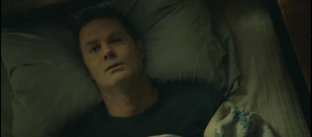 John Dorie in bed. - [Image credit: Fear The Walking Dead / YouTube screenshot]