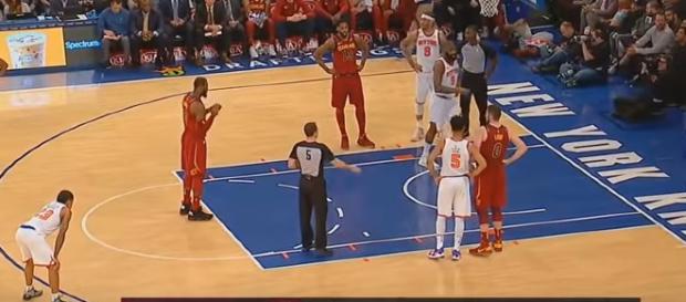 LeBron James at Madison Square Garden. - [TBS / YouTube screencap]