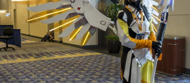 Mercy cosplay -- Racillian Photos/Flickr.