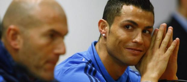 Real boss Zidane will be able to call upon star player Ronaldo in the Champions League final. Image Credit: Reuters.