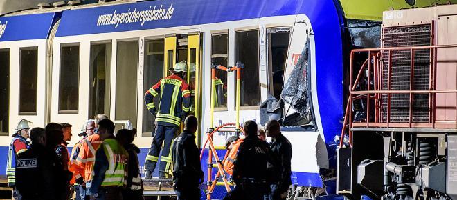 Zugunglück: Zwei Tote und eine vorläufige Festnahme