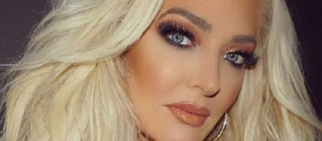 """Erika Girardi of """"The Real Housewives of Beverly Hills"""" (Photo credit: Instagram/The Pretty Mess)"""
