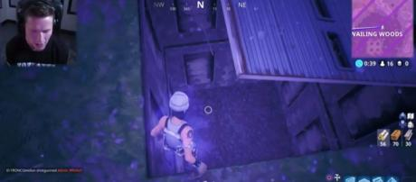 'Fortnite' player TmarTn2 opening the mysterious hatch in the game - YouTube/TmarTn2