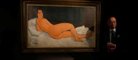 Il più grande nudo di Modigliani (foto - ilsole24ore.com)