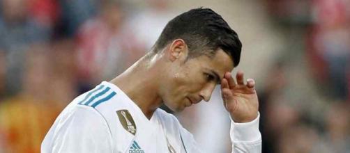 Cristiano Ronaldo não está a gostar de um rumor de mercado