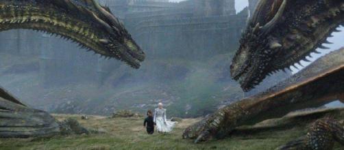 Daenerys esta fuertemente enlazada con los dragones