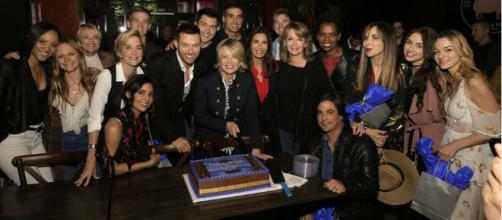 Days of our Lives cast members. (Image via YouTube Screengrab/Chris Haston/NBC)