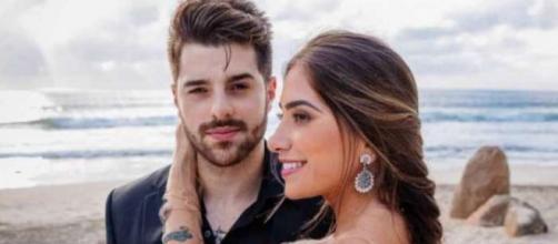Dj Alok e a namorada Romana Novais estão esperando o primeiro filho
