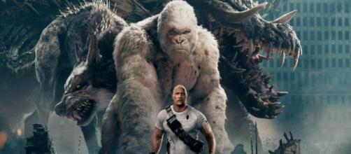 """Dwayne The Rock Johnson protagoniza """"Rampage"""" - Diario La Prensa - laprensa.hn"""