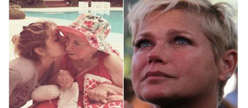 Falecimento de mãe de Xuxa gera comoção.
