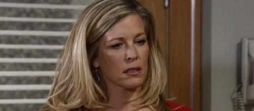 'General Hospital' spoilers hint that Carly finds Morgan alive at mental hospital (Image via YouTube/SparksFlyut1)