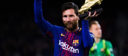 ¡Lionel Messi ya acaricia su quinta Bota de Oro!