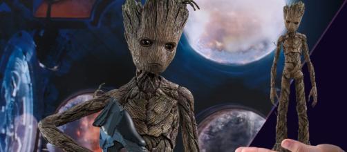 Marvel Groot rompió corazones en Avengers 3