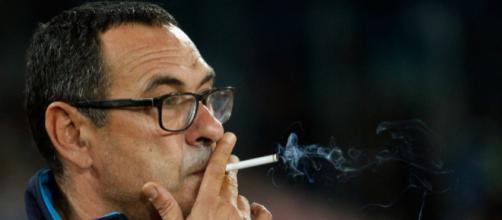 Nella foto: Maurizio Sarri, 59 anni, dalla stagione 2015/2016 sulla panchina del Napoli..