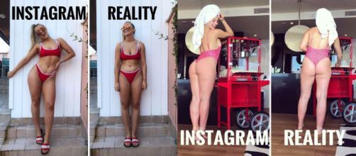 Personal trainer mostra os truques usados em fotos do Instagram.